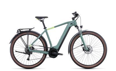 CUBE Touring Hybrid ONE 625 green 'n' sharpgreen 2022