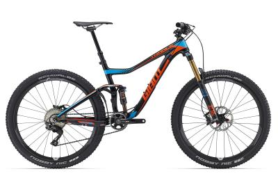 GIANT Trance Advanced 27.5 1 black-orange-blue 2016 *TESTBIKE in top Zustand*