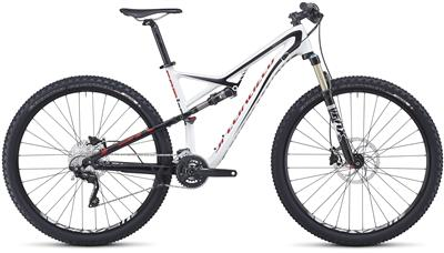 SPECIALIZED Camber FSR Comp Carbon 29er white-black-red 2014
