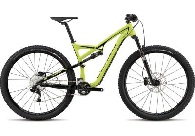 SPECIALIZED Camber FSR EVO 29er hyper green-black 2015