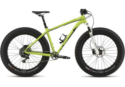 SPECIALIZED Fatboy Pro green-black-white 2015 *TESTBIKE in top Zustand*