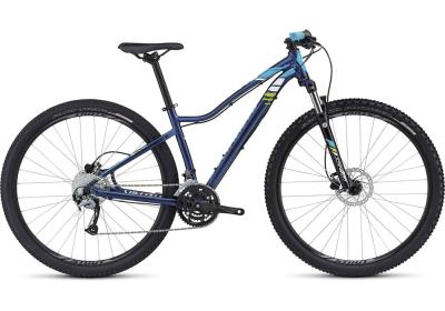 SPECIALIZED Jett Sport 29er Woman navy-cyan-hyper green 2016